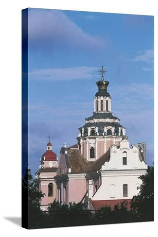 Lithuania - Vilnius - Church of the Holy Heart of Jesus--Stretched Canvas Print