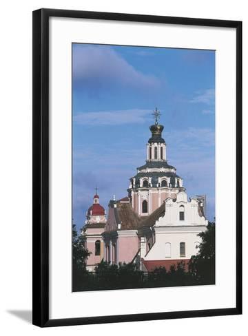Lithuania - Vilnius - Church of the Holy Heart of Jesus--Framed Art Print