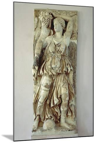 Marble Relief Depicting Victory Holding a Cornucopia from Byrsa Hill, Carthage, Tunisia--Mounted Giclee Print