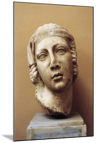 Egypt, Alexandria, Female Head--Mounted Giclee Print