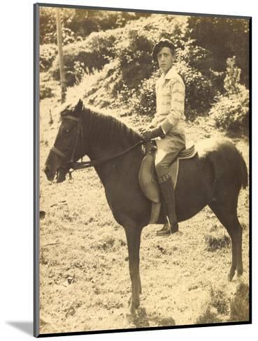 Foto Prinz Robert Von Österreich, Bruder Von Otto Von Habsburg, Pferd--Mounted Giclee Print