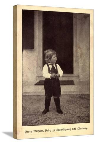 Georg Wilhelm, Prinz Zu Braunschweig Und L?neburg--Stretched Canvas Print