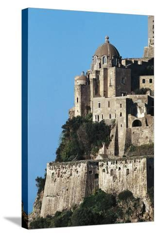 Aragonese Castle, Ischia, Campania, Italy--Stretched Canvas Print