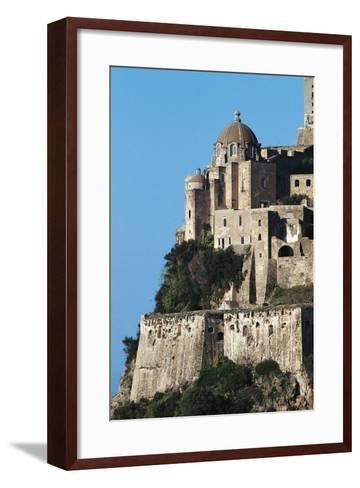Aragonese Castle, Ischia, Campania, Italy--Framed Art Print