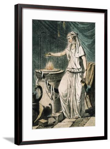 Theatrical Costume for Role of Vestal France--Framed Art Print