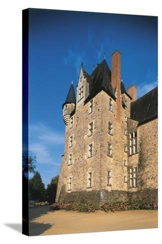 France, Loire Valley, Maine-Et-Loire, Bauge, Castle--Stretched Canvas Print