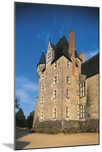 France, Loire Valley, Maine-Et-Loire, Bauge, Castle--Mounted Giclee Print