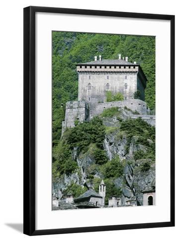 Challant Castle, Verres, Aosta, Valle D'Aosta, Italy--Framed Art Print