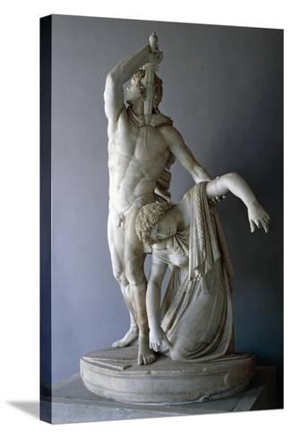 Ludovisi Gaul Killing Himself, Roman Copy from 230 BC Roman Civilization, 3rd Century BC--Stretched Canvas Print