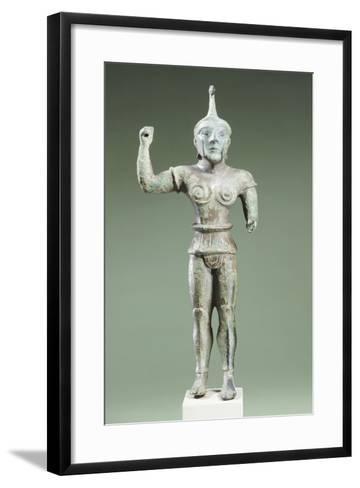 Bronze Statue Depicting Laran. Etruscan Civilization, Ca 520 BC--Framed Art Print