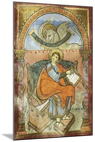 Saint Wenceslas, Miniature from the Vysehrad Gospels--Mounted Giclee Print