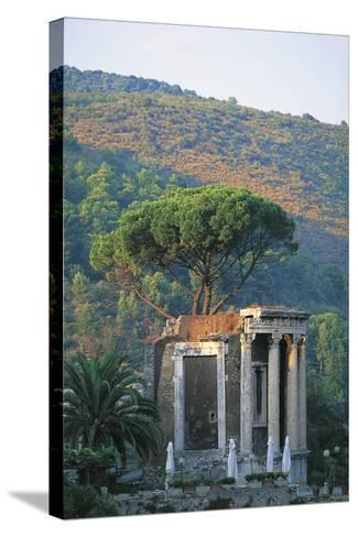 Temple of Vesta at Tivoli--Stretched Canvas Print