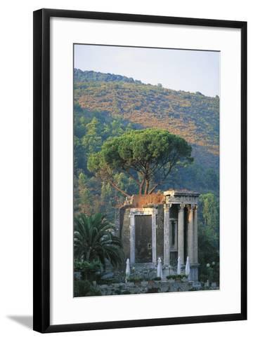 Temple of Vesta at Tivoli--Framed Art Print