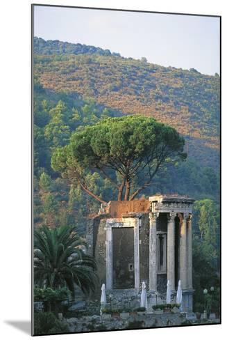 Temple of Vesta at Tivoli--Mounted Giclee Print
