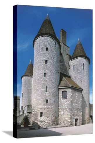 View of Fortified Chateau De Nemours, Ile-De-France, France, 12th Century--Stretched Canvas Print