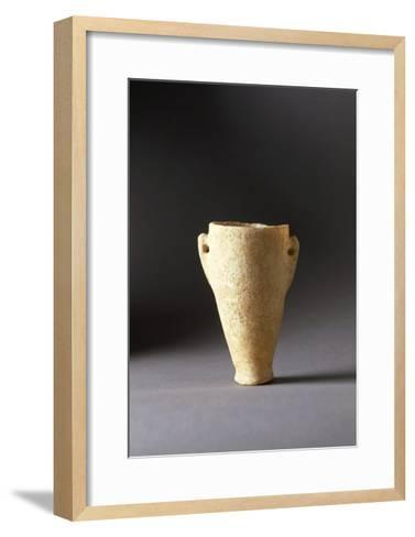 Greece, Athens, Conical Vase--Framed Art Print
