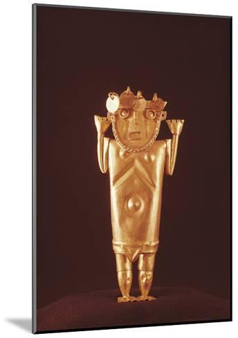 Pre-Inca Mochica Gold Figure, Form Peru, 4th-9th Century--Mounted Giclee Print