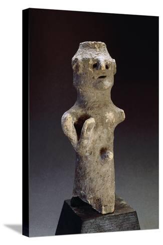 Phallic Idol, from Tharros, Near Cabras, Sardinia, Phoenician Civilization--Stretched Canvas Print