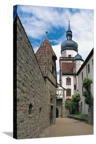 View of Marienberg Fortress, Wuerzburg, Bavaria, Germany--Stretched Canvas Print
