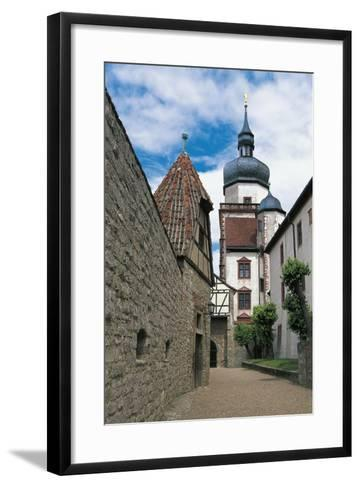 View of Marienberg Fortress, Wuerzburg, Bavaria, Germany--Framed Art Print