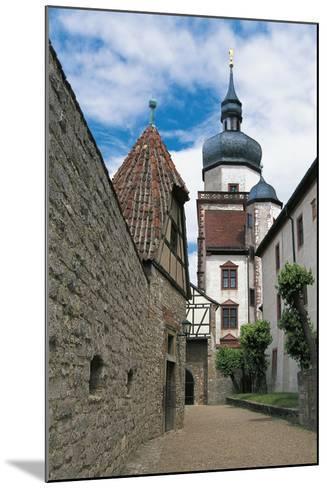 View of Marienberg Fortress, Wuerzburg, Bavaria, Germany--Mounted Giclee Print