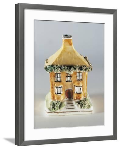 Cottage Money Box--Framed Art Print