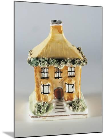 Cottage Money Box--Mounted Giclee Print
