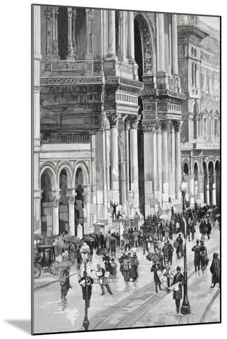 Local Elections, February 10, 1895 in Milan--Mounted Giclee Print