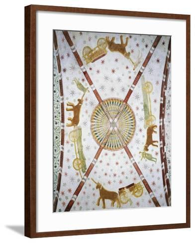 Carts in Circle, Basilica of San Bassiano, Lodi Vecchio, Lombardy, Italy--Framed Art Print