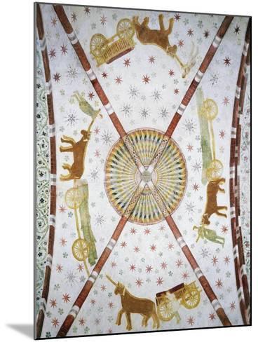 Carts in Circle, Basilica of San Bassiano, Lodi Vecchio, Lombardy, Italy--Mounted Giclee Print