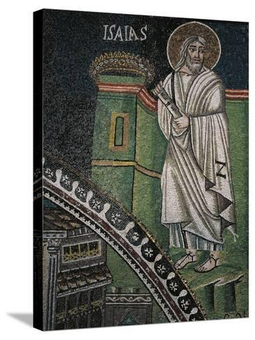 Prophet Isaiah, Mosaic--Stretched Canvas Print