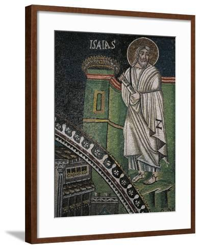 Prophet Isaiah, Mosaic--Framed Art Print