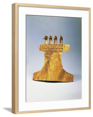 Gold Pectoral, from Veraguas, Panama--Framed Art Print