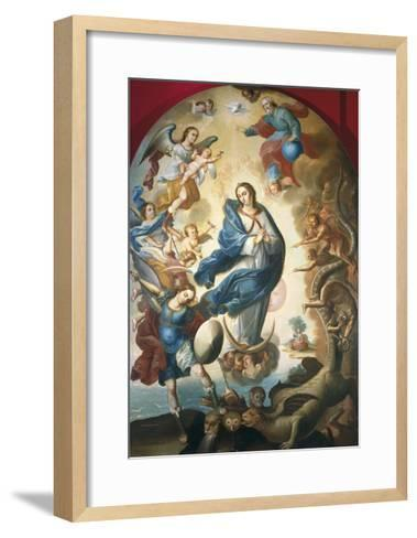 Our Lady of Apocalypse, Miguel Vallejo--Framed Art Print