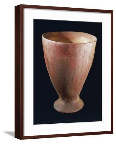 Tulip-Shaped Glass, from Quinzano Veronese, Verona, Veneto, Italy, Neolithic--Framed Art Print