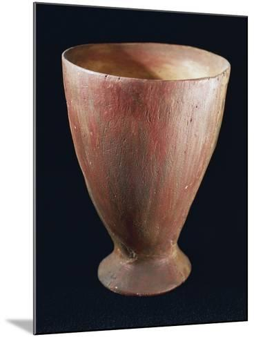 Tulip-Shaped Glass, from Quinzano Veronese, Verona, Veneto, Italy, Neolithic--Mounted Giclee Print