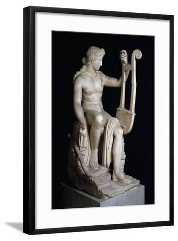 Apollo Playing Lyre--Framed Art Print