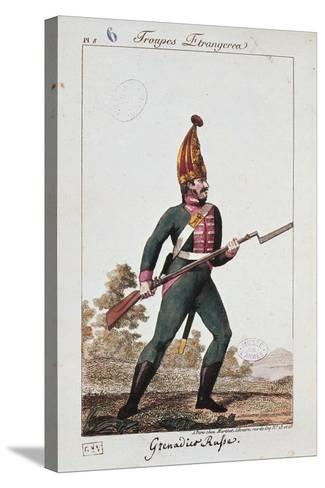 Russian Army Uniforms: Grenadier--Stretched Canvas Print