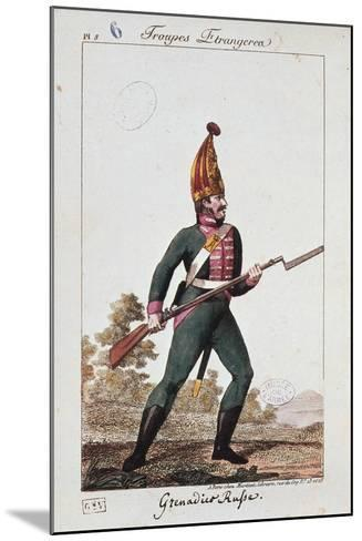 Russian Army Uniforms: Grenadier--Mounted Giclee Print