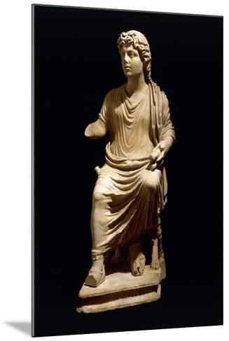 Statue of Christ the Teacher, Early Christian Period--Mounted Giclee Print