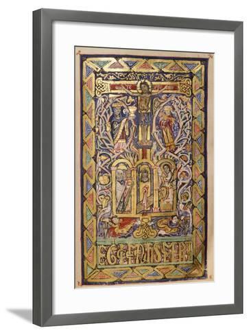 Miniature from a Missal, 12th Century--Framed Art Print