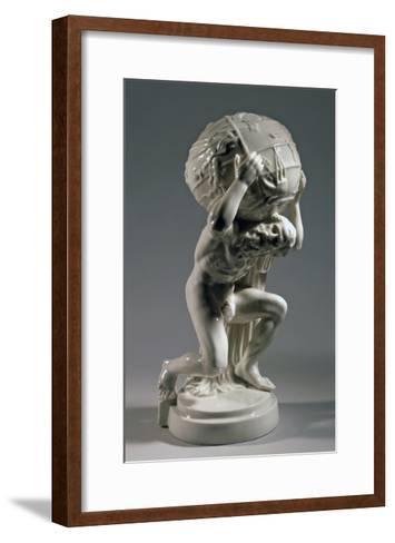 Reproduction of Farnese Atlas, Ca 1896, Ceramic--Framed Art Print