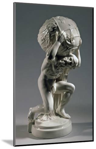 Reproduction of Farnese Atlas, Ca 1896, Ceramic--Mounted Giclee Print