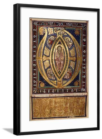 Miniature from a Missal, 12th Century--Framed Art Print