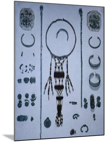 Funeral Offerings, from Asenkofen Burial Mound, Bavaria, Germany. Middle Bronze Age--Mounted Giclee Print