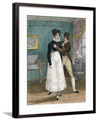 Dance Teacher, France--Framed Art Print