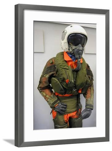 Fully Automatic Life Preserver for Aircrew, Secumar 10 Hla, 1976--Framed Art Print
