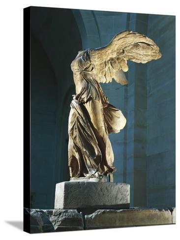 The Nike or Victory of Samothrace--Stretched Canvas Print