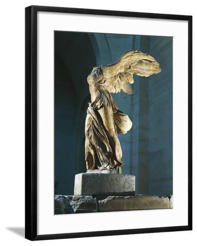 The Nike or Victory of Samothrace--Framed Art Print
