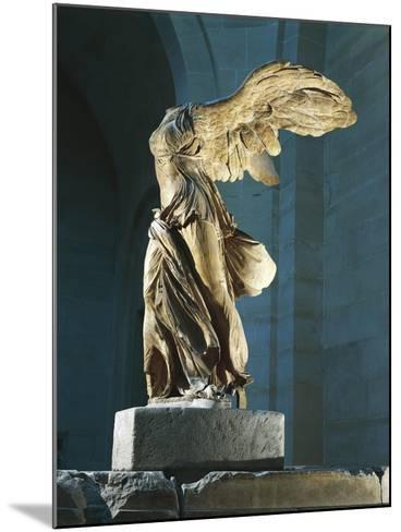The Nike or Victory of Samothrace--Mounted Giclee Print